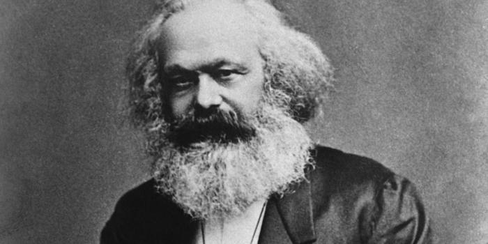 Projector Karl Marx